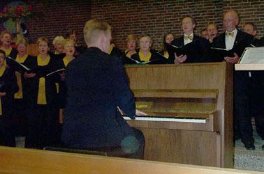 5 korenconcert in Emmeloord