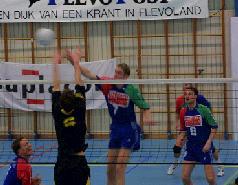 Problemen vooral bij Volleybal